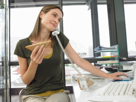как питаться правильно когда некогда поесть