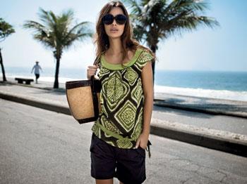 яркая блузка фото