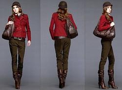 Небольшая деталь - настоящие кожаные сумки по определению не могут быть...