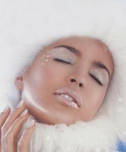 макияж снежная королева