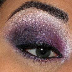 макияж серые глаза