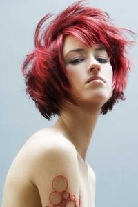 цвет волос 2009