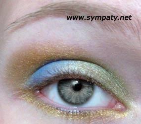 макияж серые глаза пример