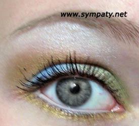 серые глаза макияж