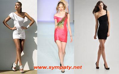 облегающие летние платья 2009