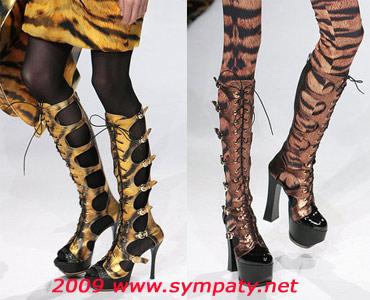 Ботинки а-ля байкер 2009