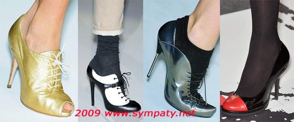 детали обувь осень 2009