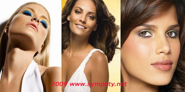 макияж подчеркнуть загар