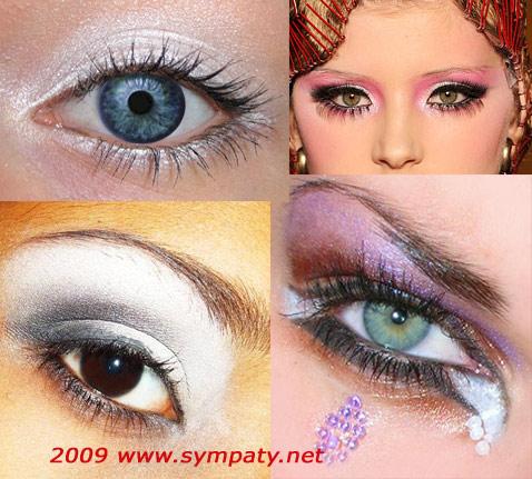 Макияж осень 2009 глаза