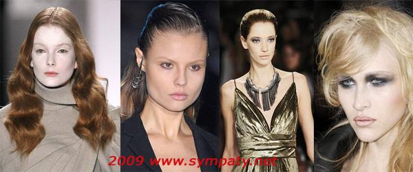 осень 2009 макияж кожа