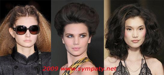 волосы объем осень 2009