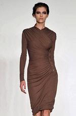 платья осень 2009