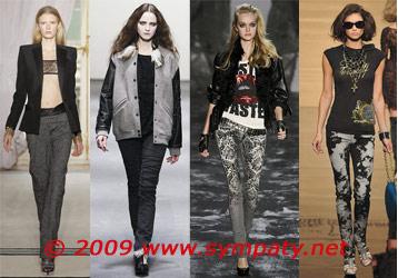 Модные  брюки осени-2009