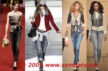 джинсы осень 2009