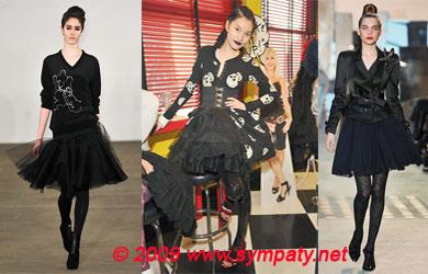 юбки осень 2009 балетные