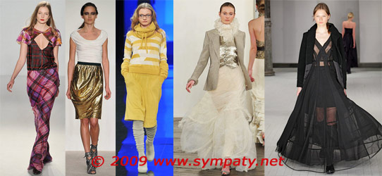 модные юбки осень 2009
