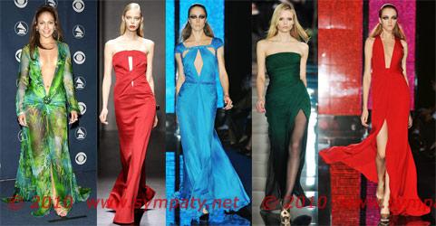 Новогодние платья-2010