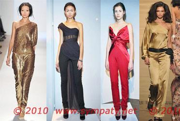 вечерние платья 2010 комбинезон