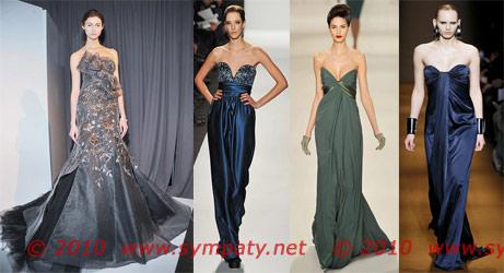 вечерние платья 2010 без бретелек