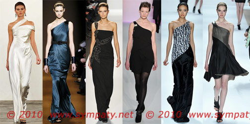 Новогодние и вечерние платья-2010