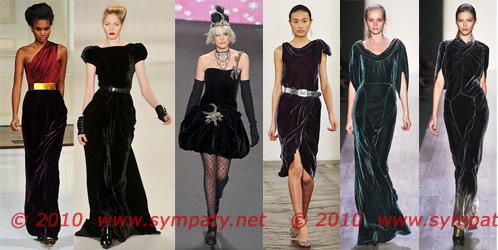 вечерние платья 2010 плюш