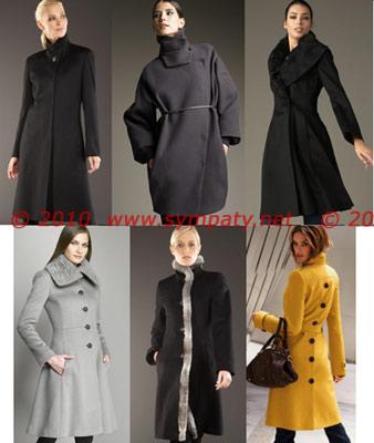 сексуально зимой пальто