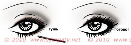 Техника макияжа Smokey Eyes