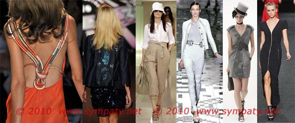 весна 2010 тенденции