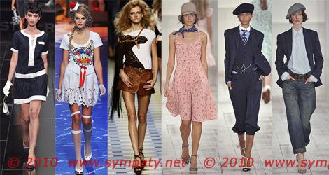 весна 2010 стили