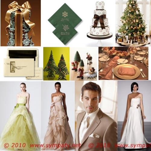 Зимняя свадьба: лучшие идеи оформления