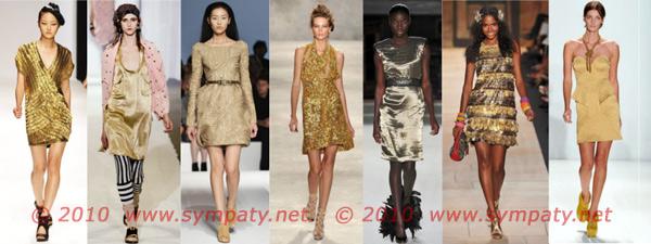 маленькое золотое платье 2010
