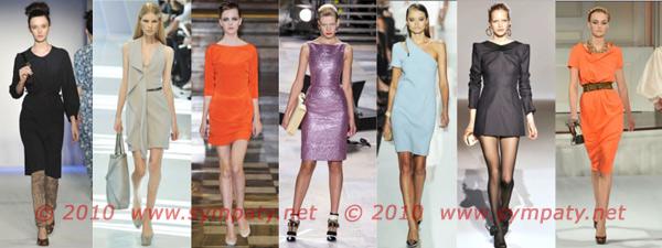 классические платья весна 2010