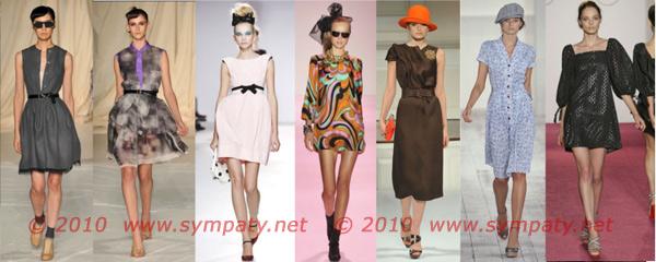 винтажные платья 2010