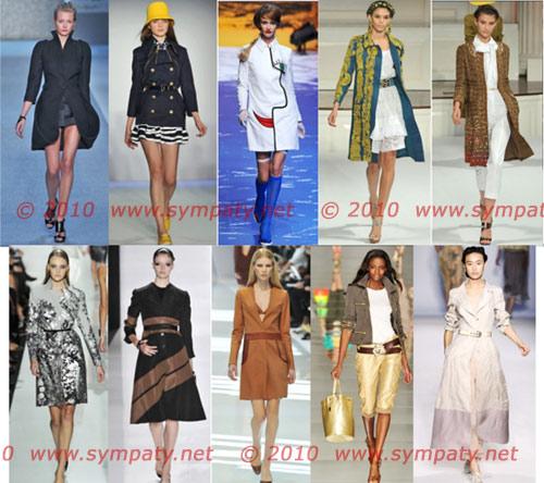 Верхняя одежда весны-2010 жетали