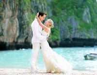 свадьба летом пляж