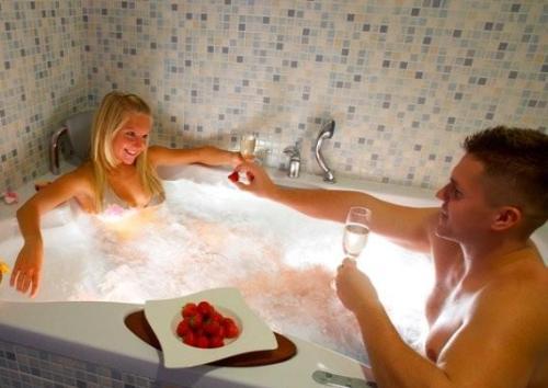 Эротические игры в ванной