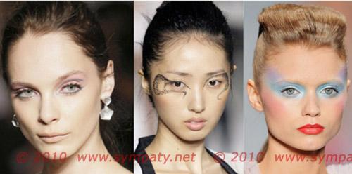креативный макияж весна 2010