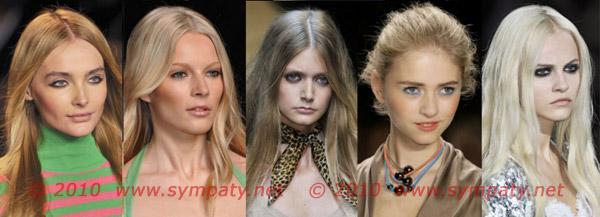подводка макияж весна 2010