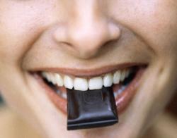 шоколад для красоты  здоровья
