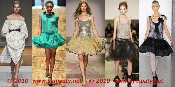 летние юбки 2010