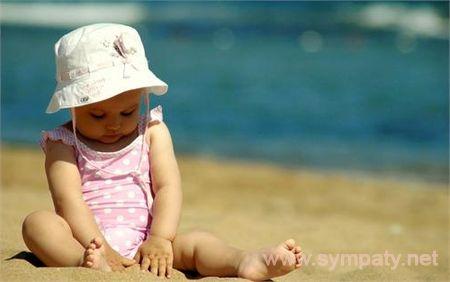 как отдохнуть на море с ребенком