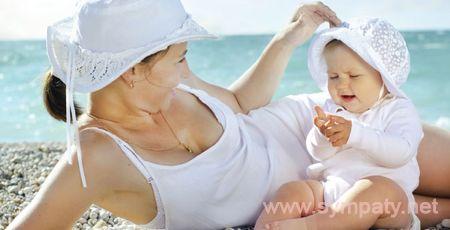 как отдохнуть на море с малышом