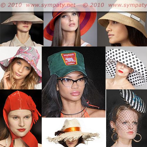 шляпа лето 2010