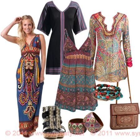 Восточный этно стиль в одежде.  Восточным женщинам не позволительно...