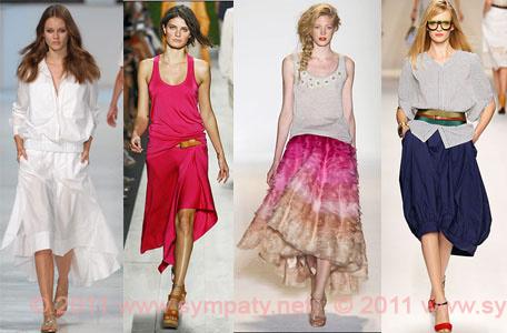 самые замечательные юбки 2011