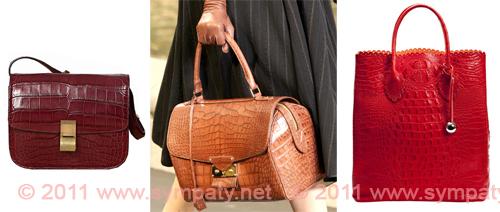 модные коричневые сумки 2011