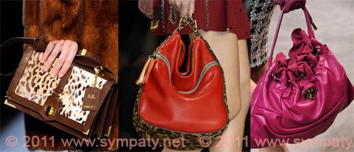 модные  сумки 2011 анималистика