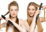 Как выпрямить волосы утюжком
