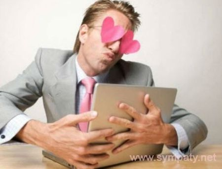 муж ведет любовную переписку на сайте