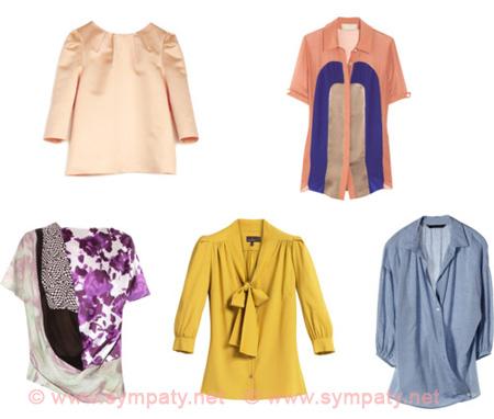 Блузки для 60 лет